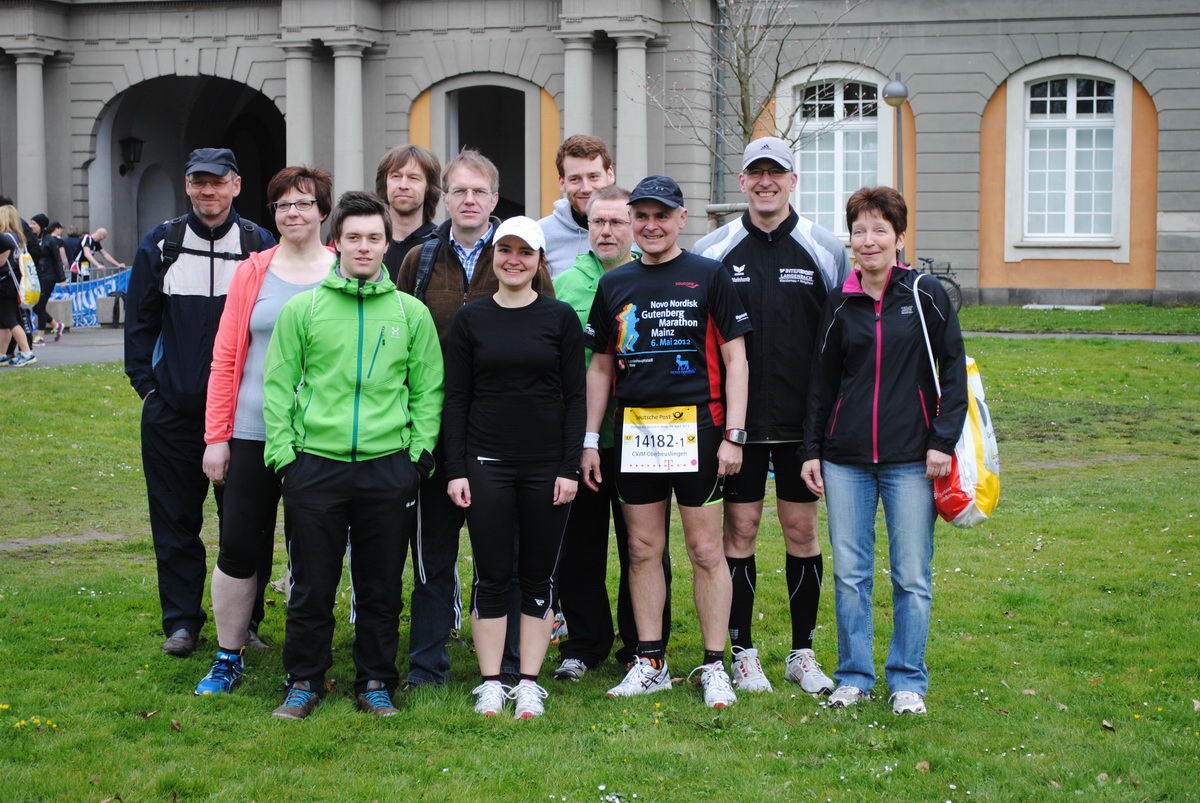 Staffel-Marathon in Bonn